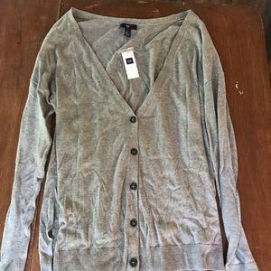 NWT Gap Grey Cardigan